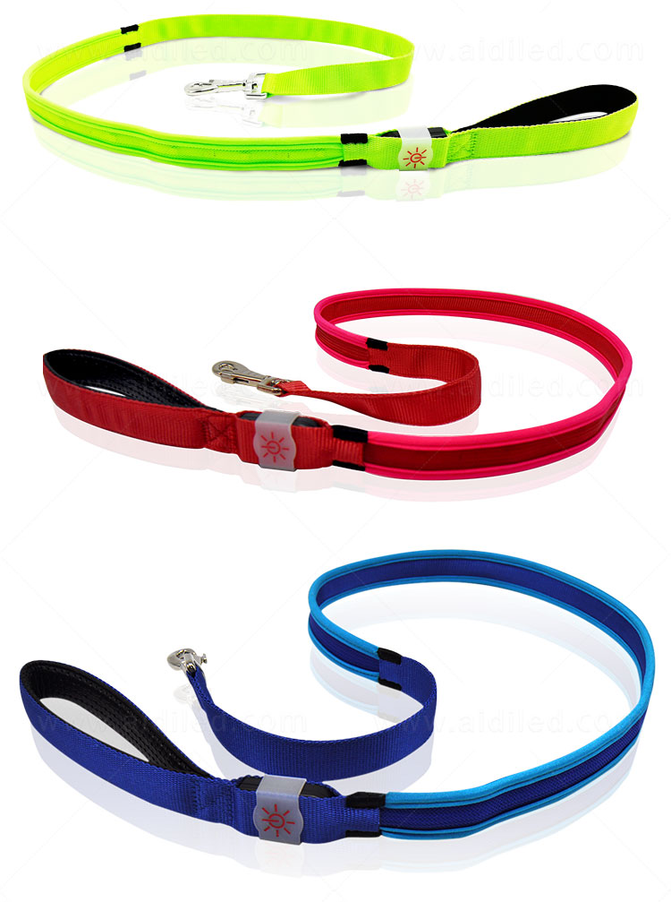AIDI light up dog collar and leash design for pet-8