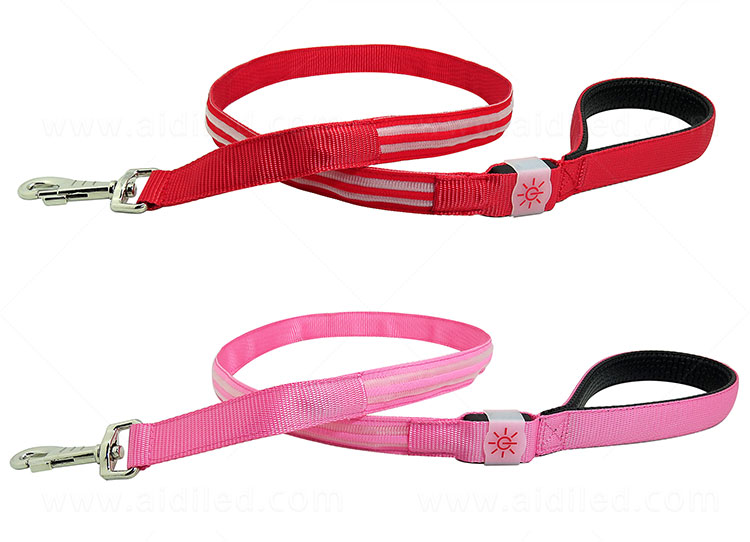 AIDI light up dog leash factory for pet-8