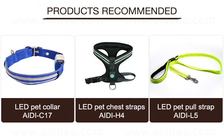 AIDI light up dog leash factory for pet-18