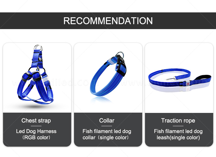 AIDI reflective glow in the dark dog harness directly sale for pet-2