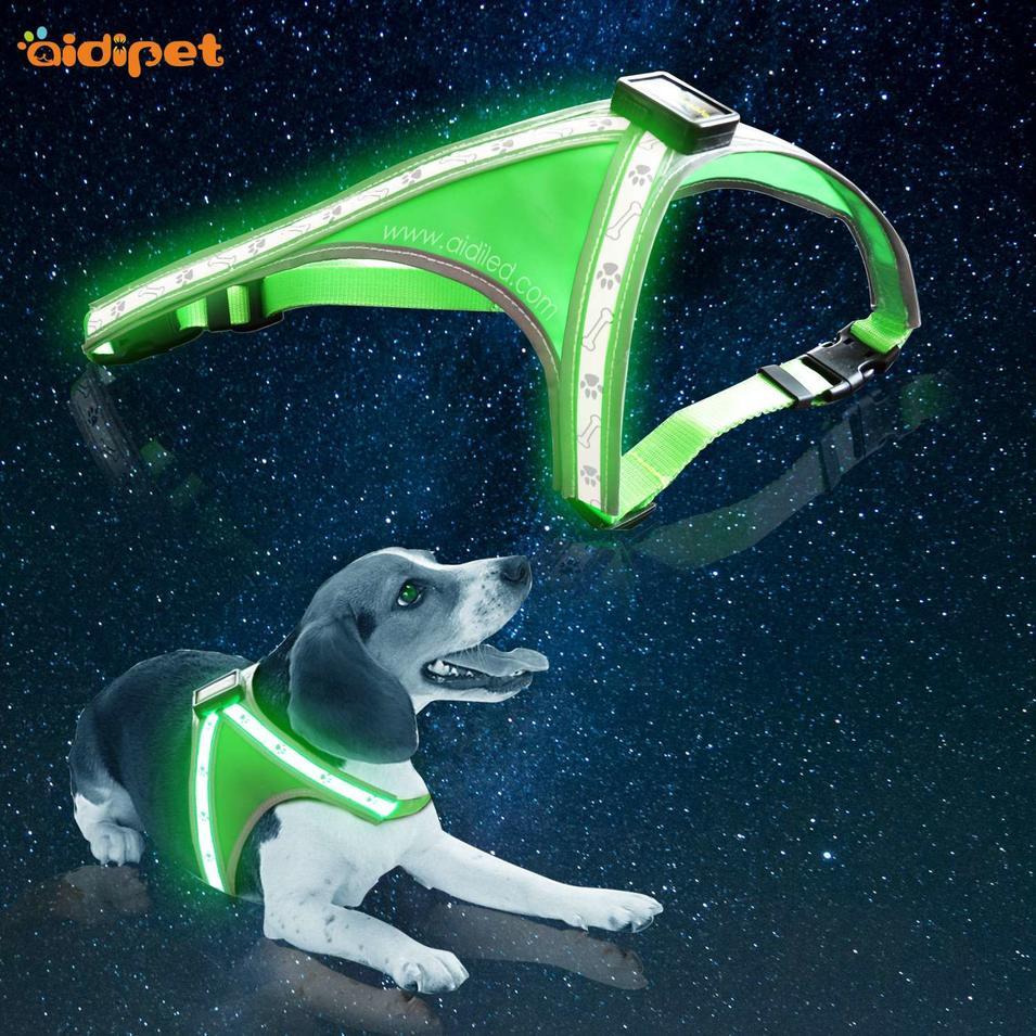 AIDI-H5 Led Dog Harness with Printing
