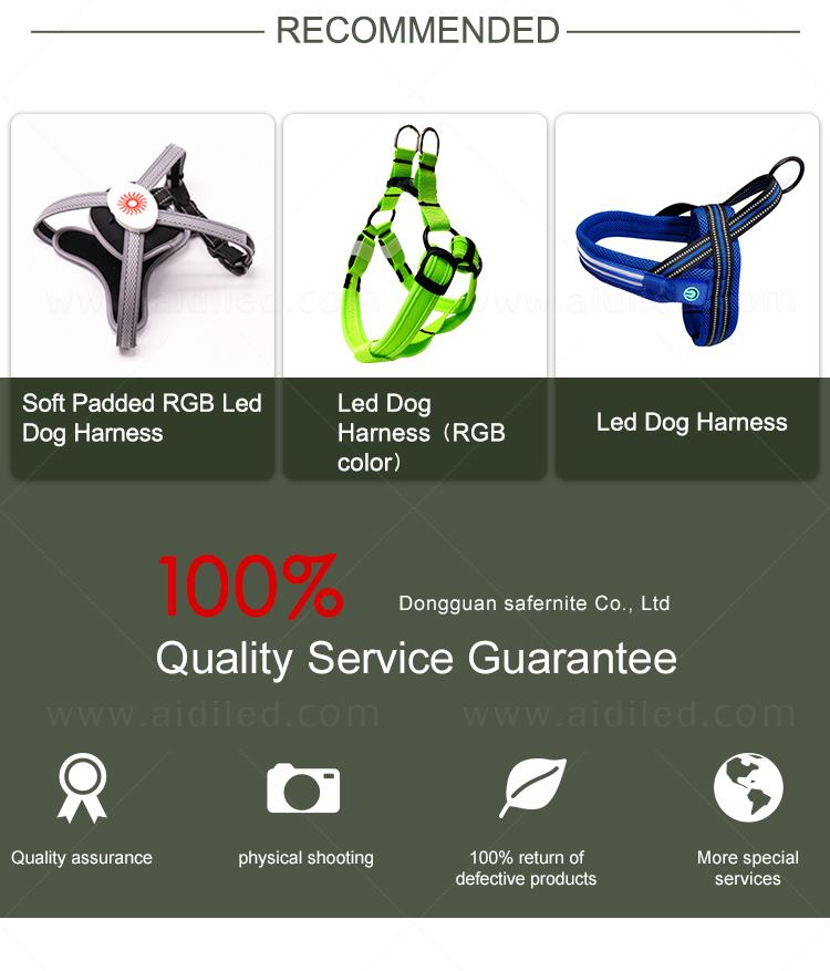 product-Hot sale multicolor RGB led dog harness h7p newest model-AIDI-img