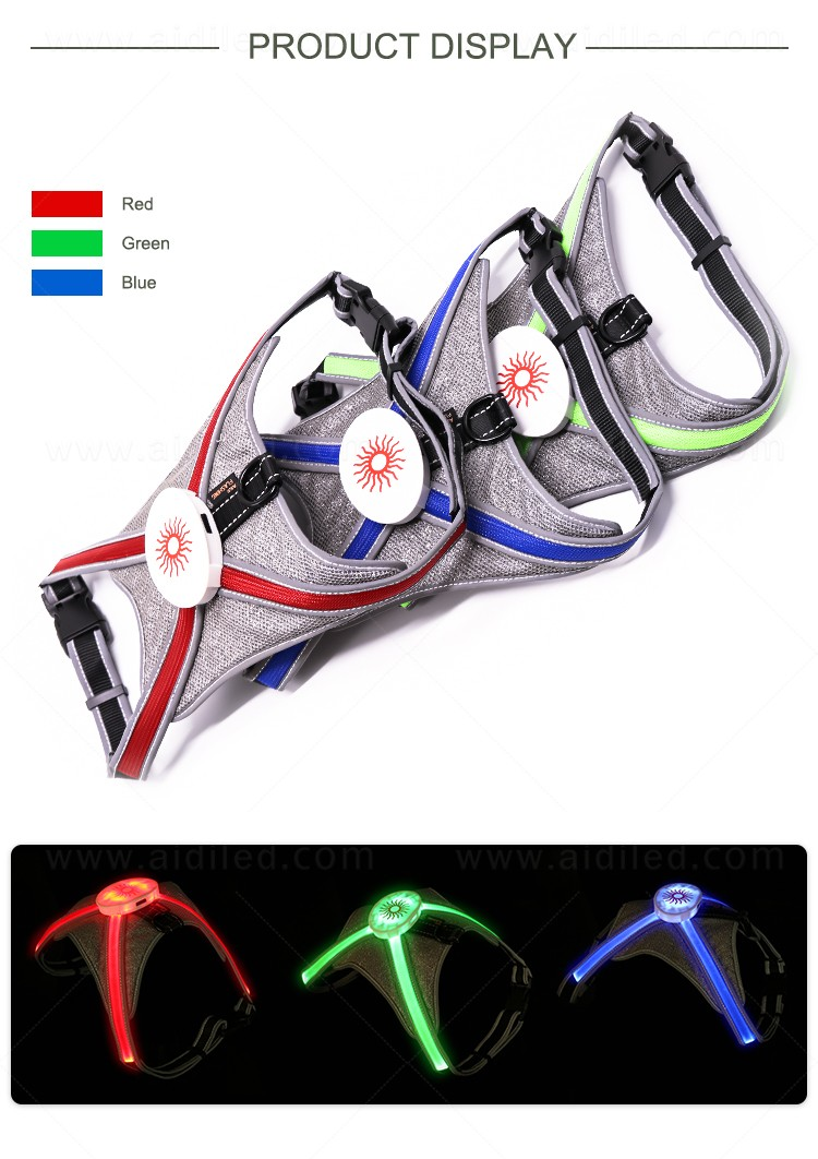 AIDI reflective glowing dog collar directly sale for outdoors-4