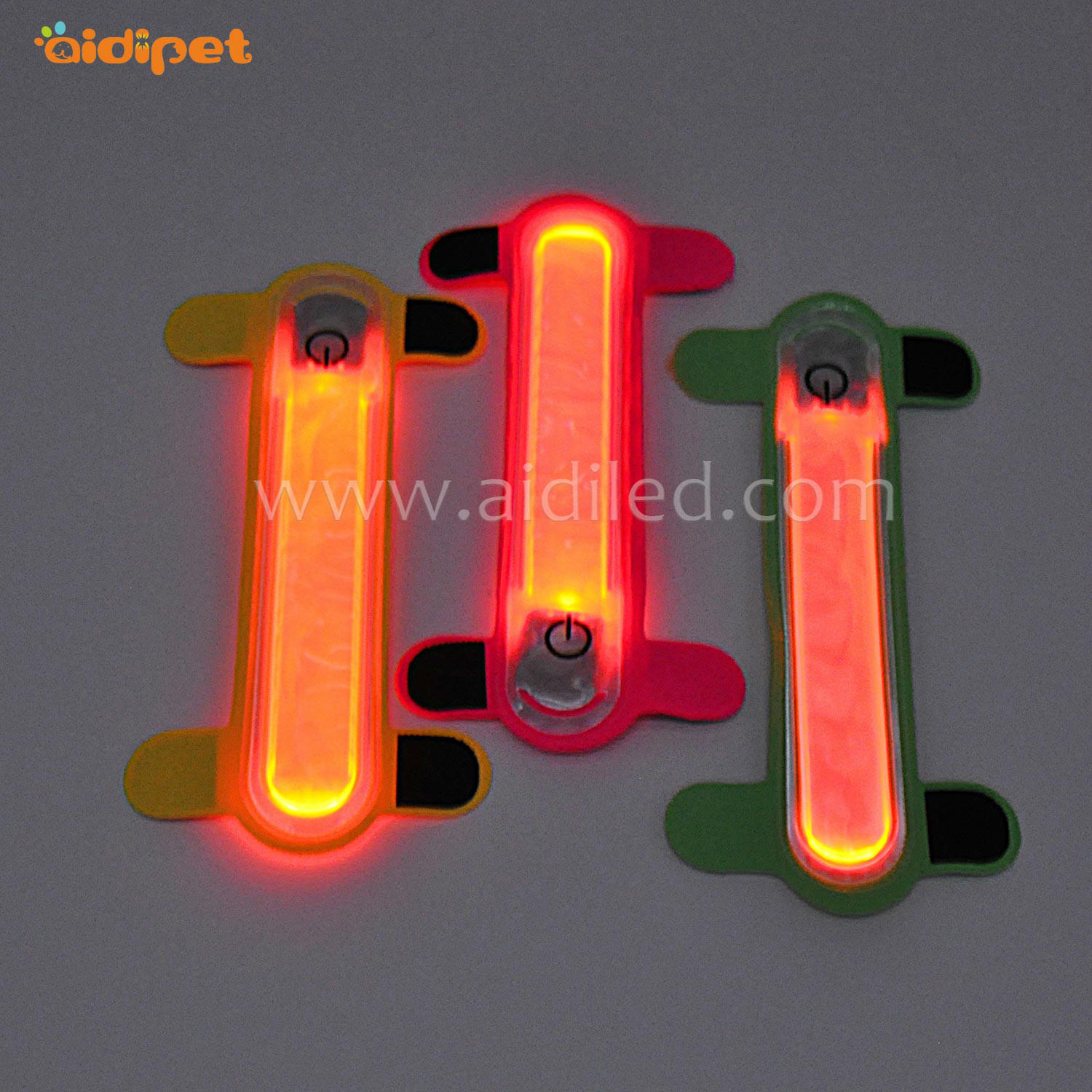 LED lycra pet collar cover light AIDI-M3
