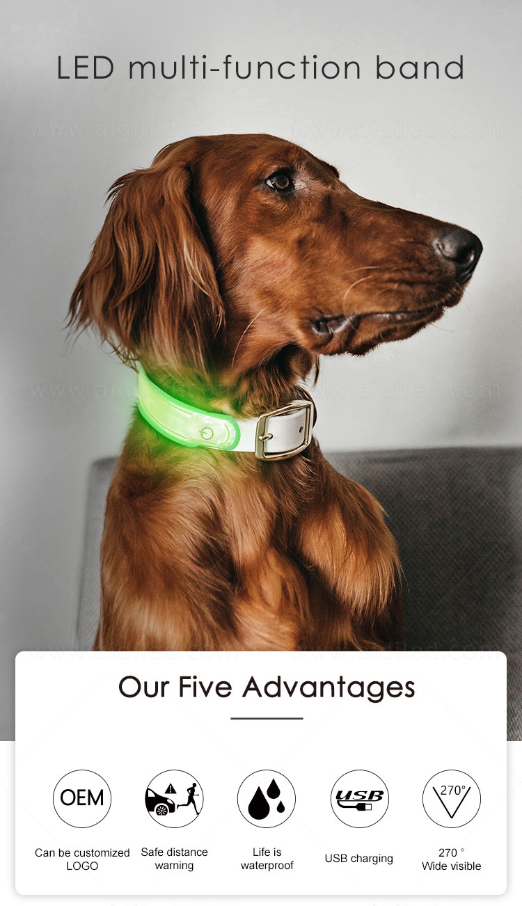 reflective dog collar accessory wholesale for pet-3