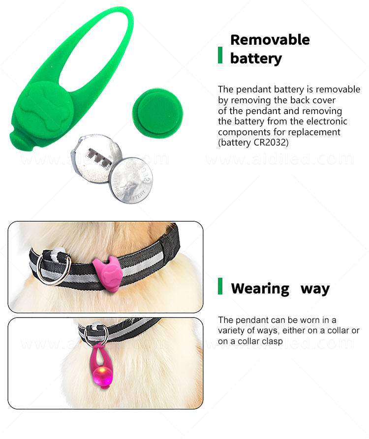 AIDI reflective pet collar accessories factory price for