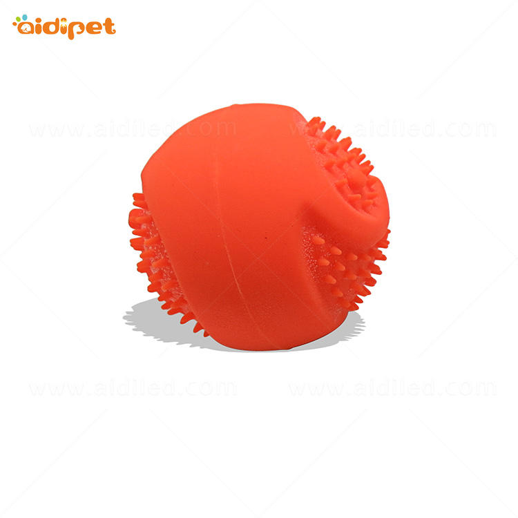 Led Flashing Biteable Dog Ball AIDI-M5