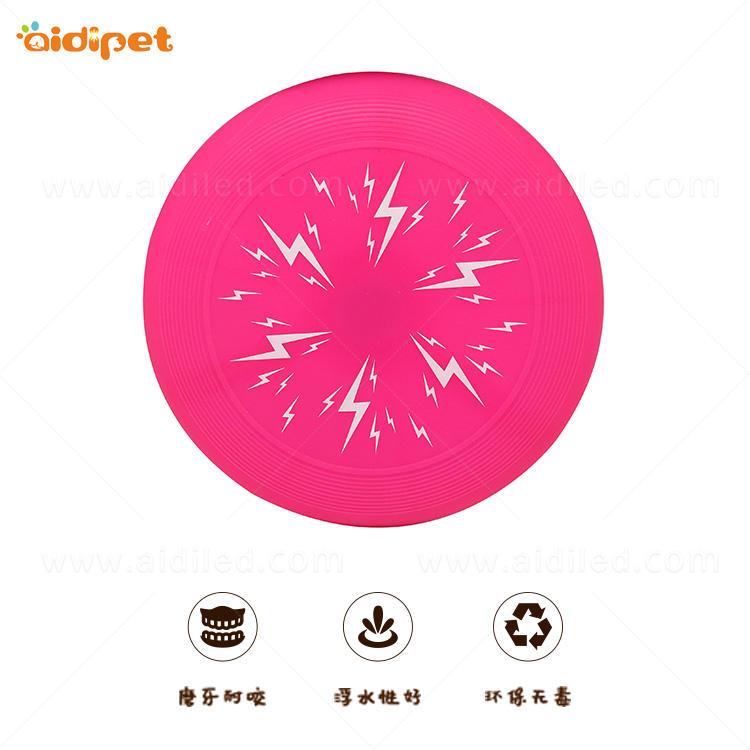 Flashing Silicone Dog Frisbee Disc Toy AIDI-M4
