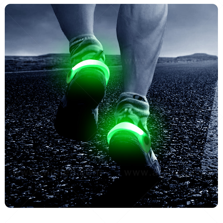 durable night runner led shoe clip design for kids-16