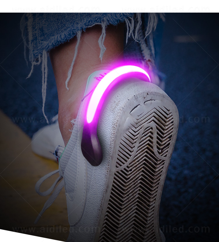 AIDI night runner led shoe clip factory for children-4