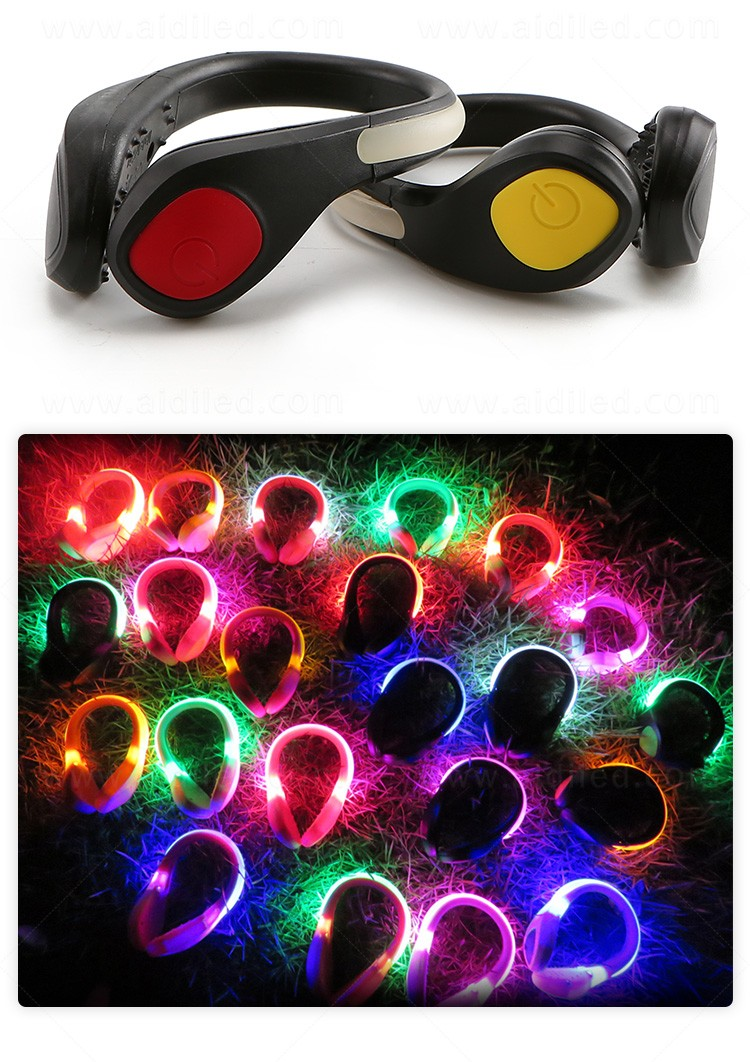 AIDI night runner led shoe clip factory for children-9