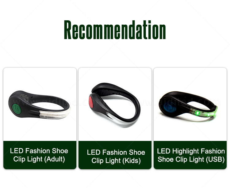white clip on shoe lights design for outdoors-1