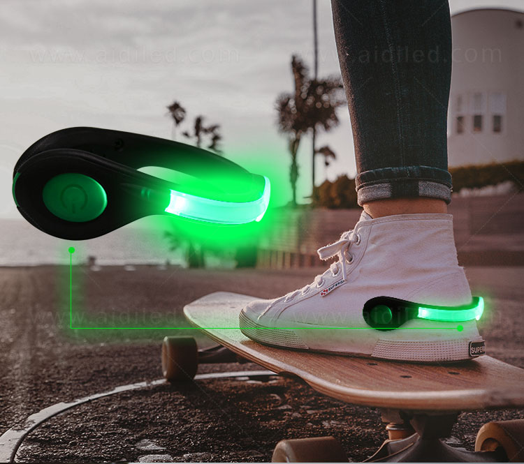 white clip on shoe lights design for outdoors-12