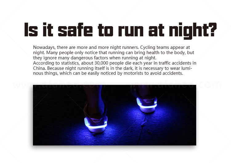 AIDI rechargeable clip on shoe lights with good price for kids-1