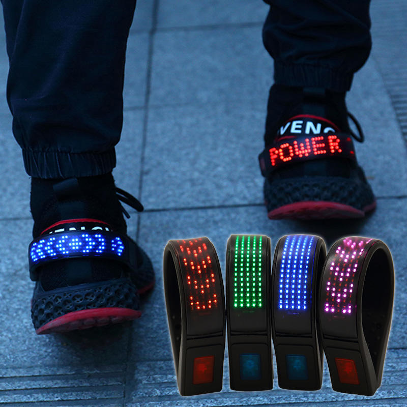 Led Running Shoe Clip with Led Screen AIDI-NEW
