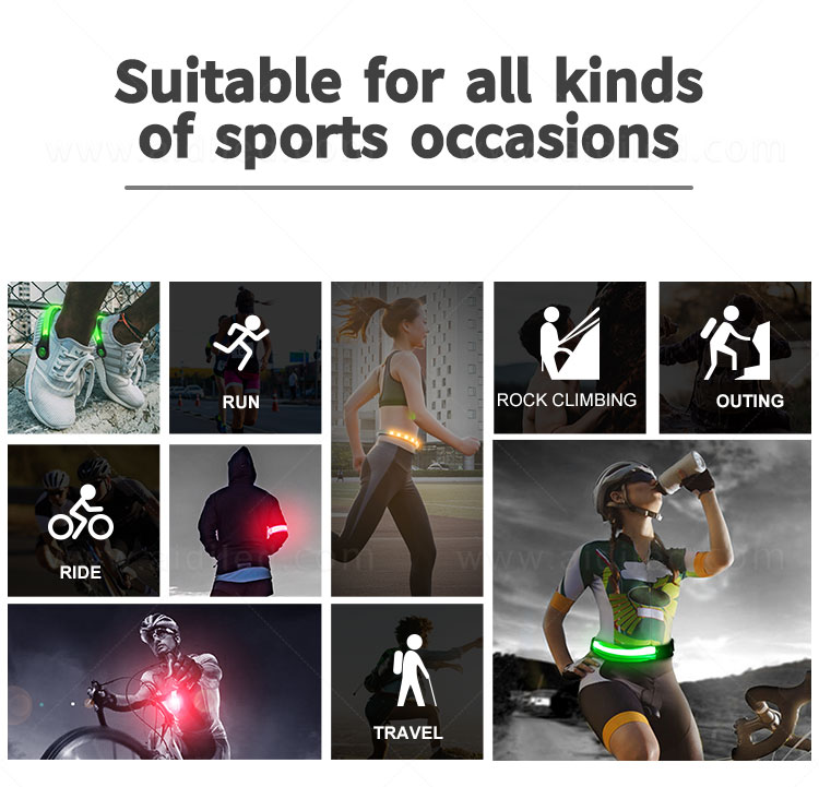 product-AIDI-Outdoor sport Led waist belt for safety for adults AIDI-S12-img-1