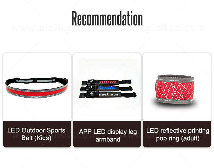 AIDI safety running waist bag from China for adults