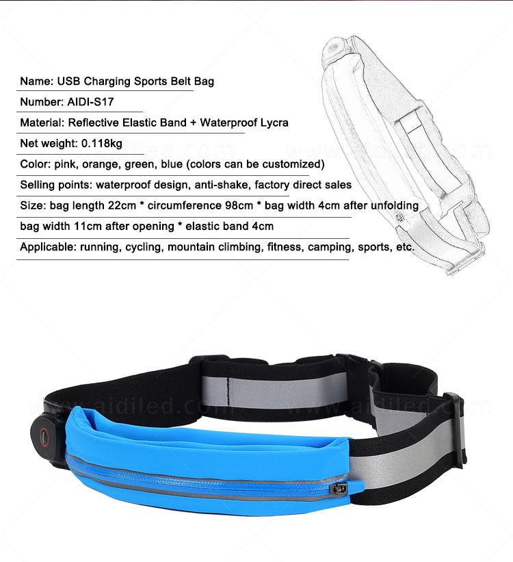 AIDI waist belt bag directly sale for outdoors