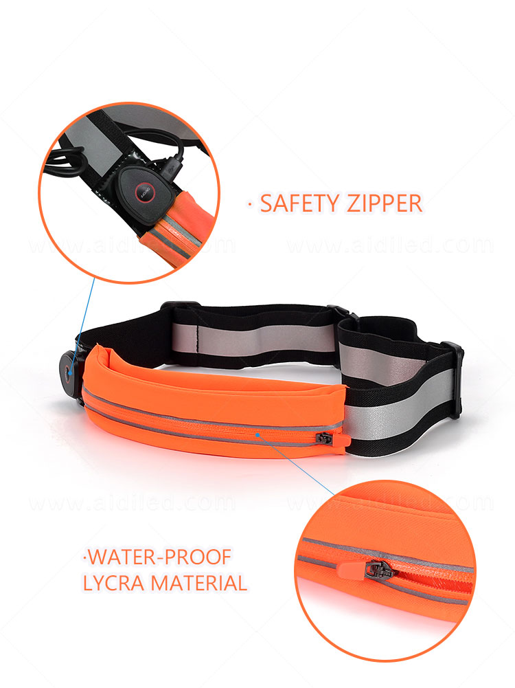 product-AIDI-Led outdoor sport waist bag for night safety single bags AIDI-S17-img-1
