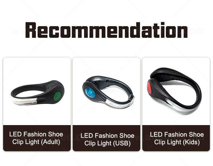 AIDI white led shoe clip lights with good price for outdoors-1