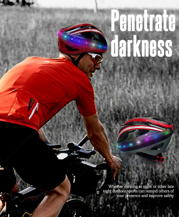 AIDI led helmet lights inquire now for man