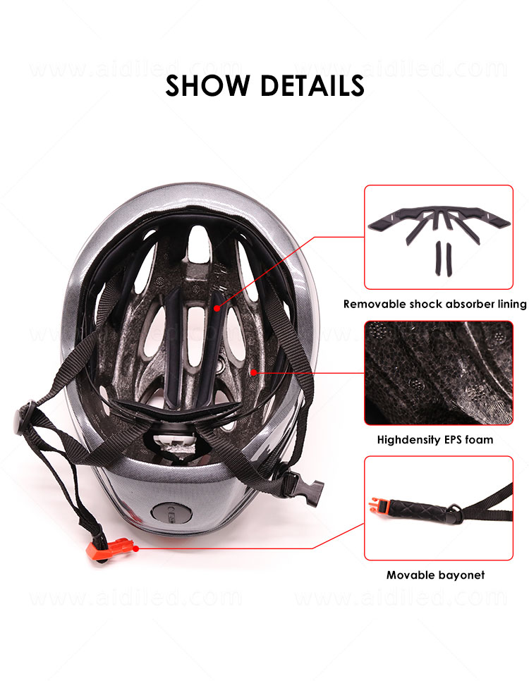 product-light up smart led helmet for bicycle riding AIDI-S18-AIDI-img-1