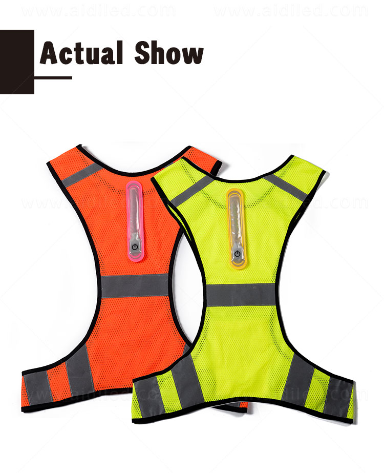 AIDI high visibility vest series for sports-6