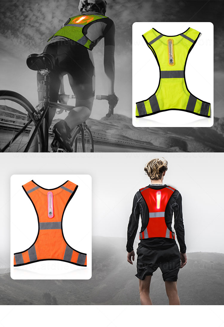 AIDI high visibility vest series for sports-14
