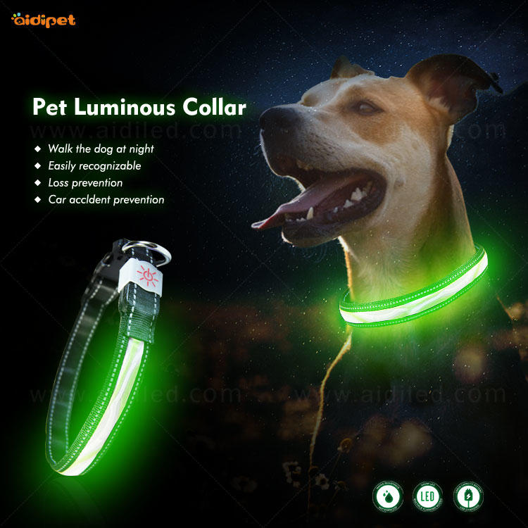 AIDI-C12 LED shining dog collar/leash cover