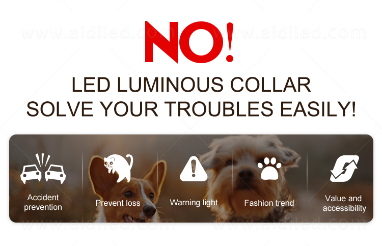 product-AIDI-AIDI-C12 LED shining dog collarleash cover-img