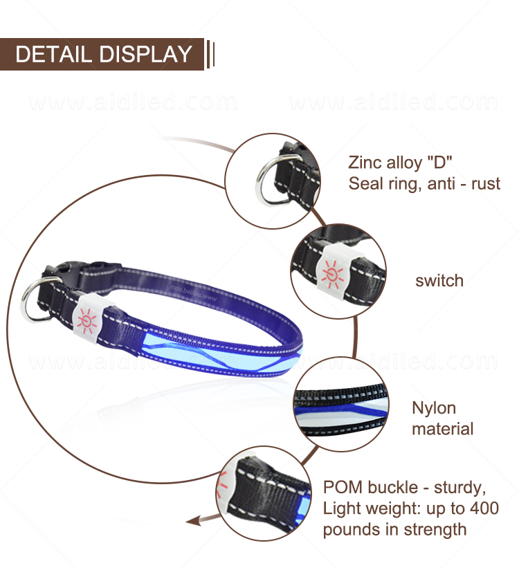 product-AIDI-AIDI-C12 LED shining dog collarleash cover-img-1