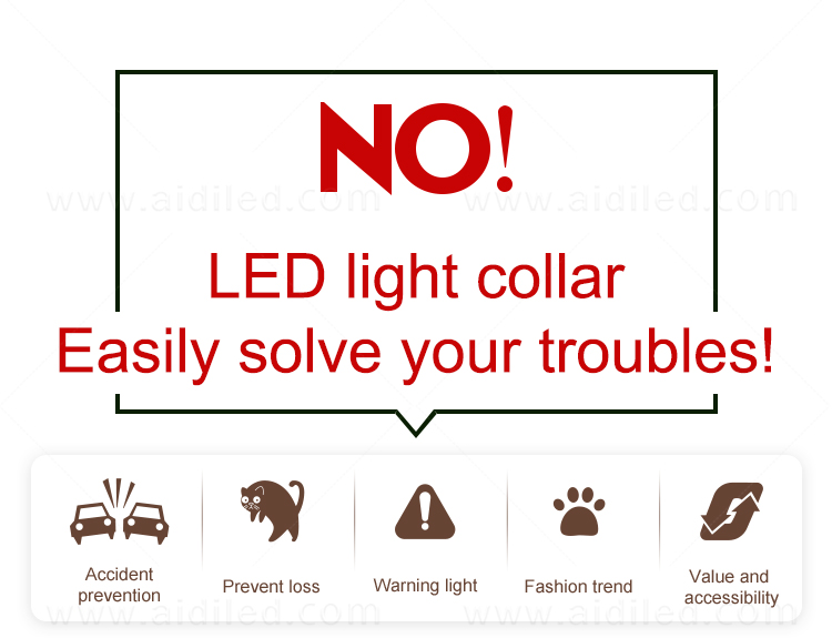 product-AIDI-AIDI-C20 Wholesale Pet Dog Led Collar-img