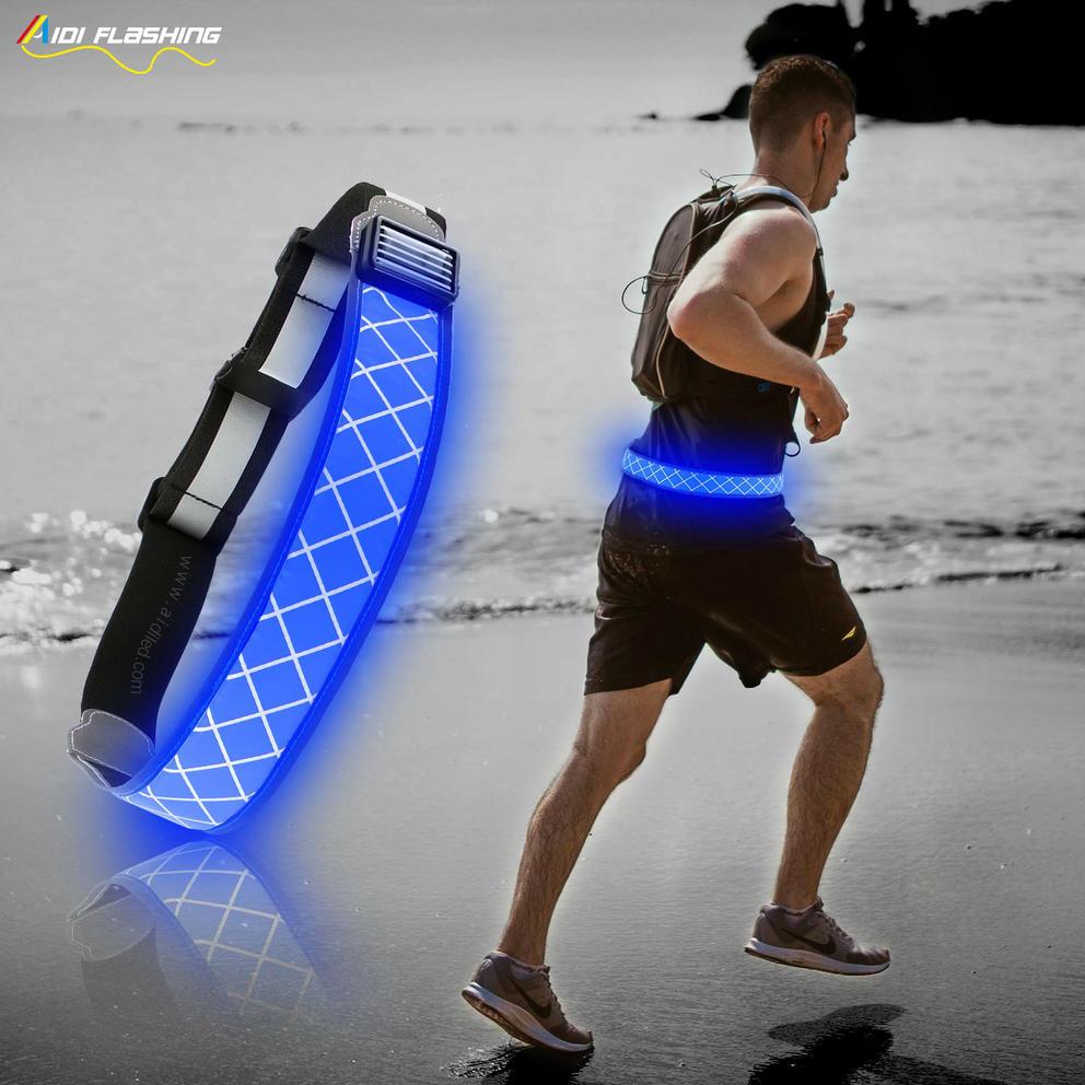 S12 Reflective led waist belt