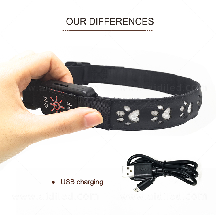 waterproof led pet collar light inquire now for walking-4