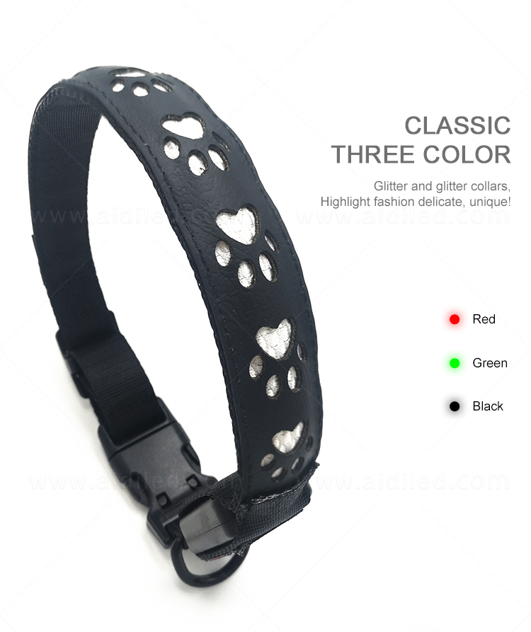 waterproof led pet collar light inquire now for walking-9