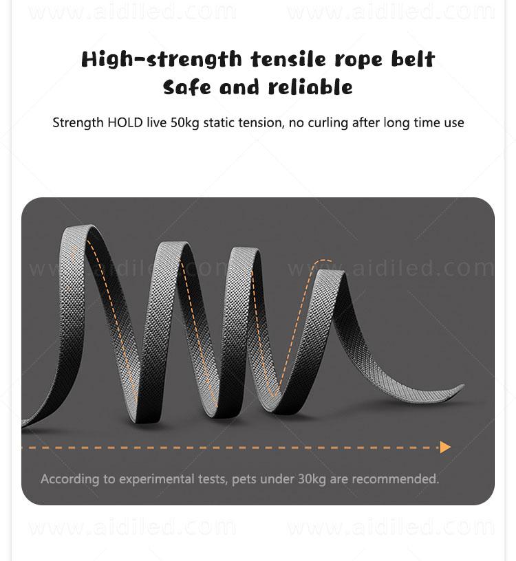 product-M10 Retractable Dog Leash with Led-AIDI-img-1