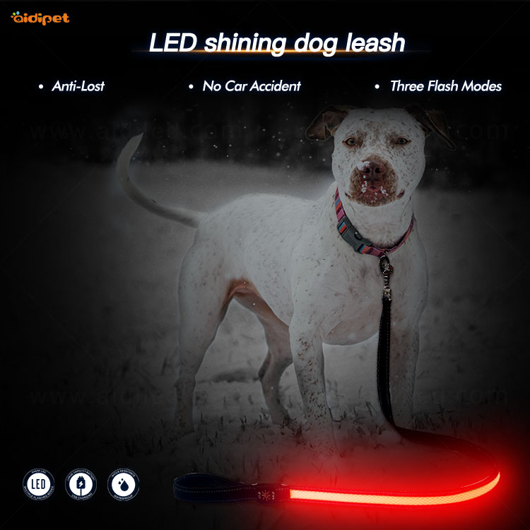 AIDI led light dog leash with good price for pet-1