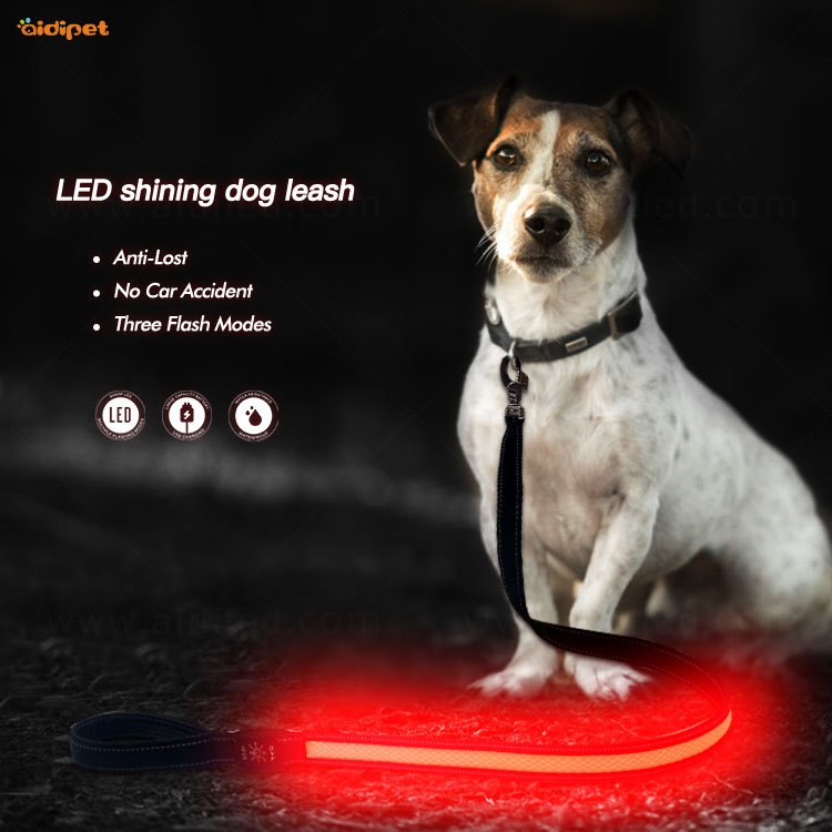 AIDI led light dog leash with good price for pet-3