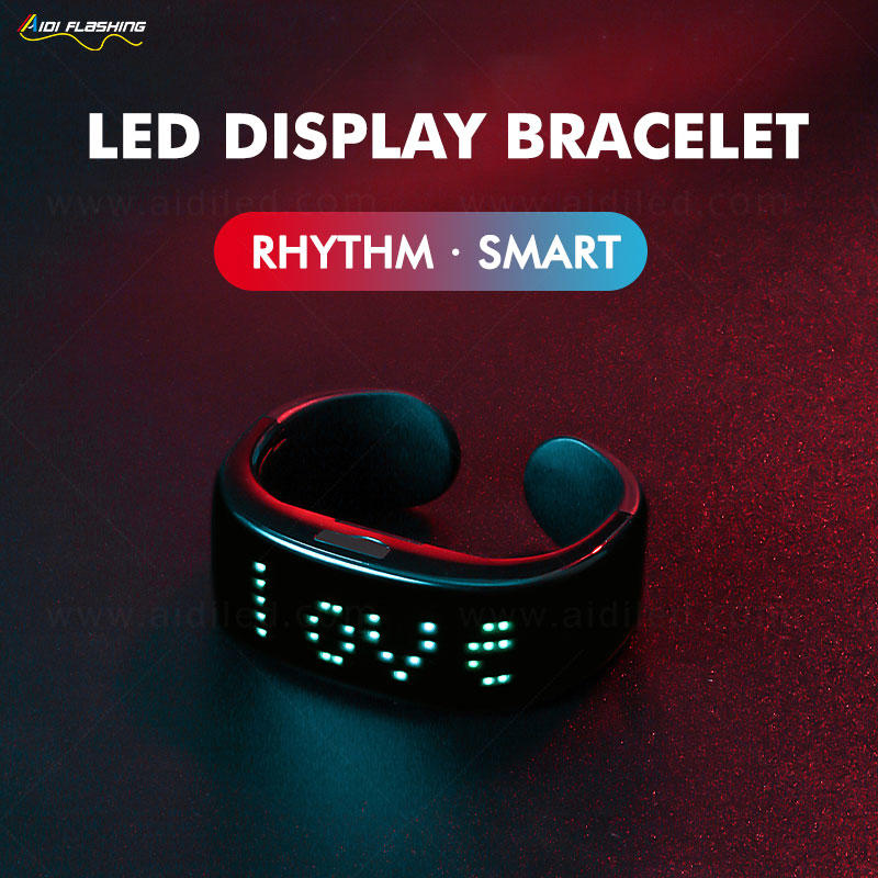 Smart APP Bluetooth Connection Led Bracelet