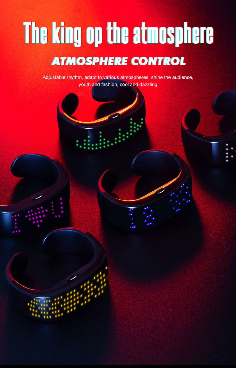 product-AIDI-Smart APP Bluetooth Connection Led Bracelet-img