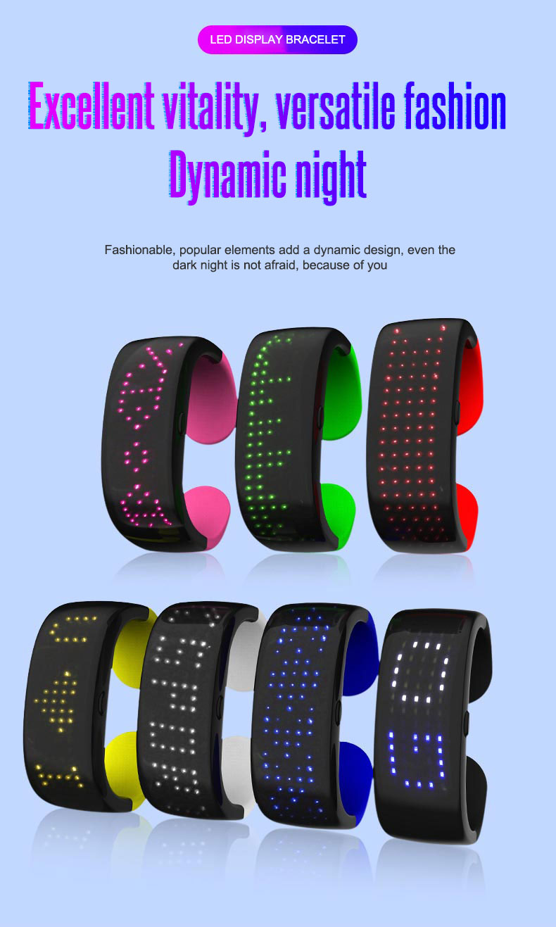 product-Led display bracelet with 9 modes-AIDI-img