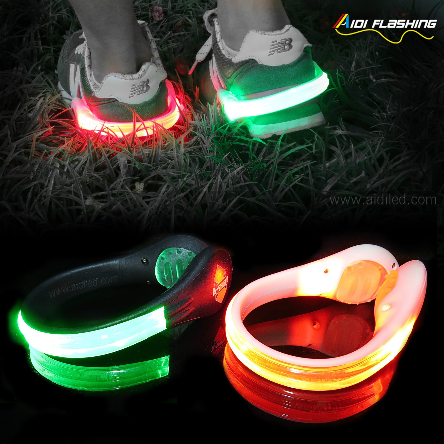 news-AIDI-Types of LED Shoe Clips-img