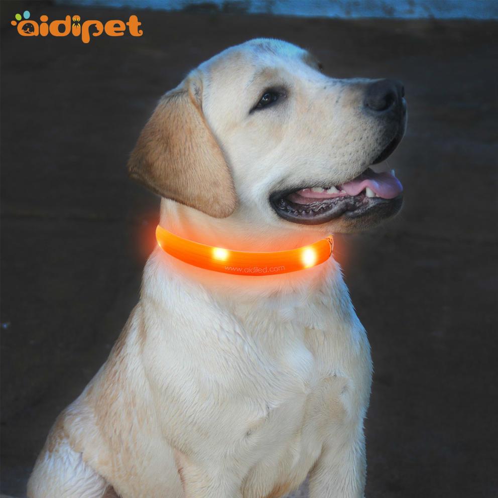 C5 LED Silicone Dog Collar