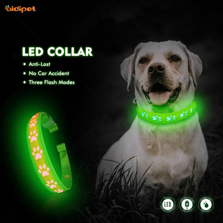 news-Glow On Pet Dog Collars-AIDI-img