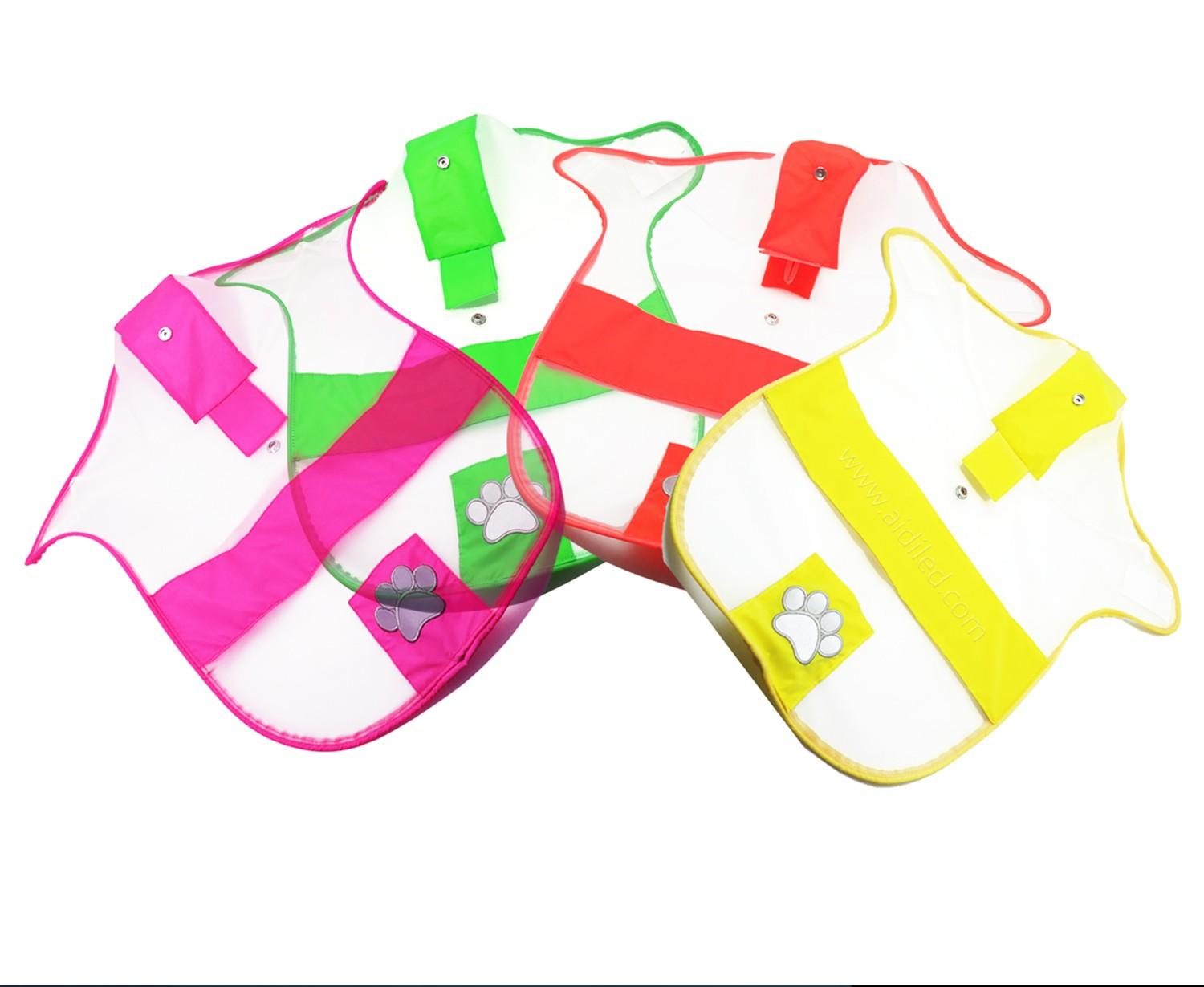 soft glow in the dark dog harness customized for pet-3