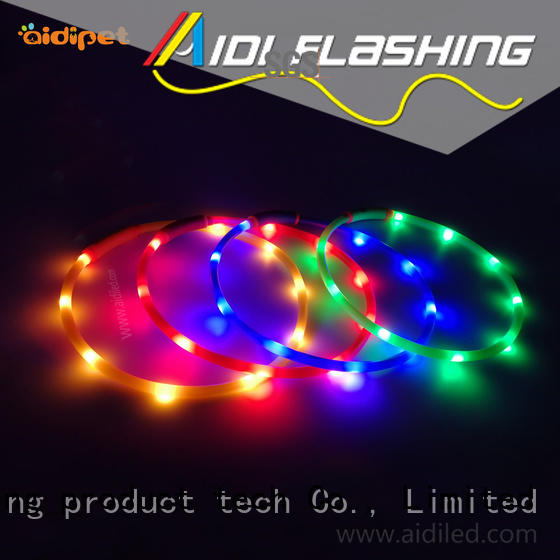 AIDI glowing best dog collar light design for walking