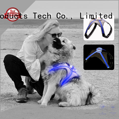 AIDI soft light up dog harness series for park