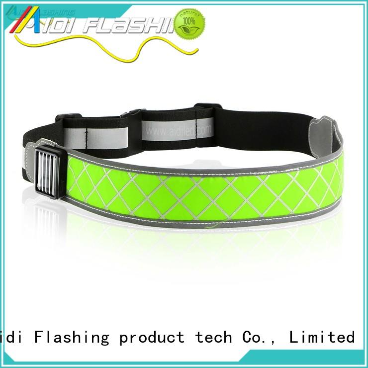 AIDI reflective running light belt from China for outdoors