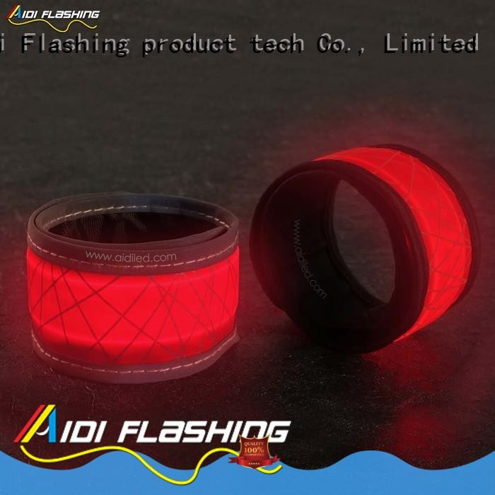 adjustable led slap bracelet factory for man