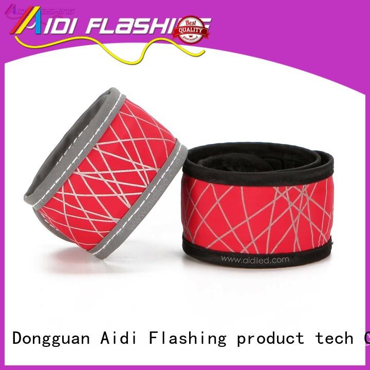 Led hot-pressing slap band with reflective printing AIDI-S7